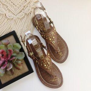 SAM EDELMAN Sandals -Gigi Embellished Greta Sz 4